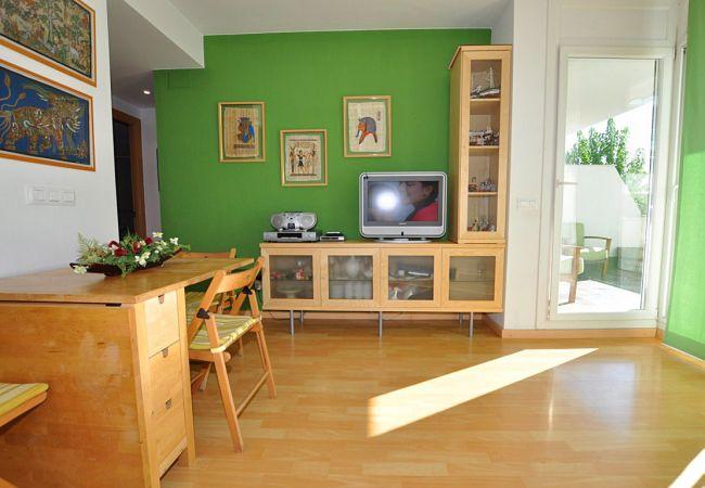 Apartament en Rosas / Roses - 1095 AQUAMARINA vista Piscina