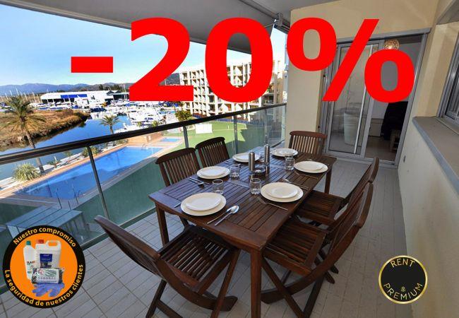 Apartament en Rosas / Roses - 1111 PORT GRAN vista Canal
