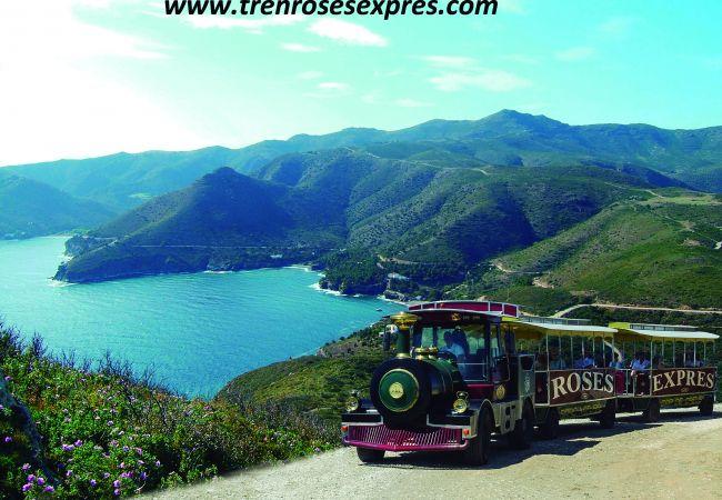 Casa en Rosas / Roses - 1169 LOS ANGELES con Piscina