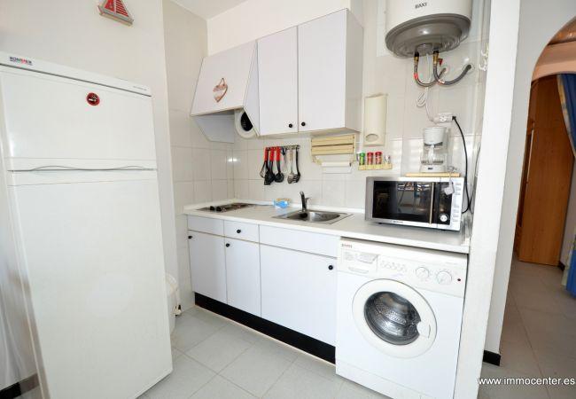 Apartament en Rosas / Roses - ISAR21- Apartamento con vista a los canales