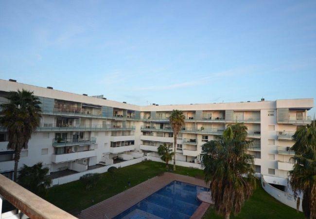Apartament en Rosas / Roses - ISAR26- Apartamento 4 pax con terraza y piscina